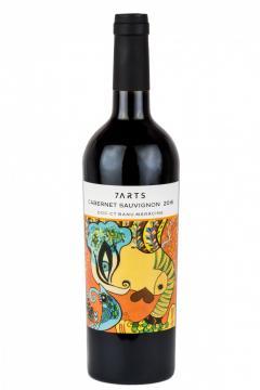 Vin rosu - 7ARTS, Cabernet Sauvignon, 15.5%, sec 2016