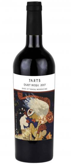 Vin rosu - 7ARTS, Cabernet Sauvignon, Syrah,14%, sec, 2017