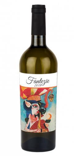Vin alb - 7ARTS, Fantezie, Feteasca Alba, Sauvignon Blanc, Tamaioasa Romaneasca, sec, 2018