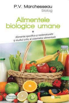 Alimentele biologice umane