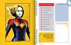Agenda scolara-Captain Marvel: Be bold, Be brave