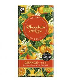Ciocolata amaruie cu extract de portocale