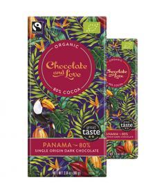 Ciocolata Bio amaruie - Panama 80%