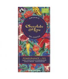 Ciocolata amaruie - Pomegranate 70%