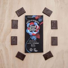 Ciocolata neagra 80% cacao - Salbatic si organic Bio
