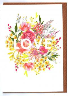 Felicitare - Floral Love