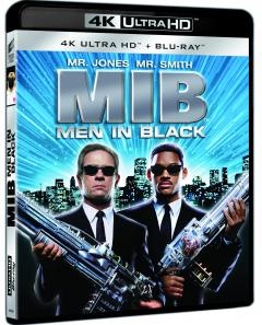 Barbati in negru 1 / Men in Black (4K Ultra HD + Blu-Ray Disc)