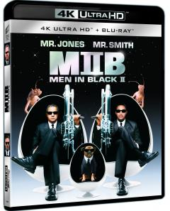 Barbati in negru 2 / Men in Black 2 (4K Ultra HD + Blu-Ray Disc)