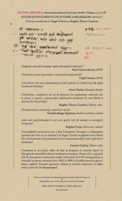 Opere asiatice inedite, Vol II