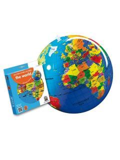 Minge gonflabila - The World - Political Globe