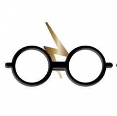 Insigna - Harry Potter - Glasses and Scar