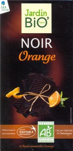 Jardin, Bio Ciocolata neagra cu portocala