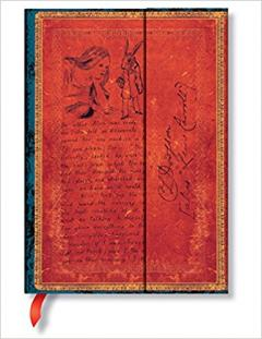Carnet - Lewis Carroll Alice in Wonderland Midi L