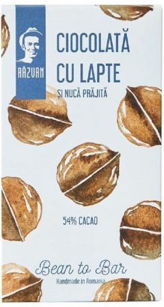 Ciocolata artizanala cu cacao si nuca prajita - Razvan