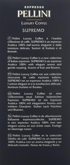 Capsule espresso - Luxury Coffee Supremo Arabica 100