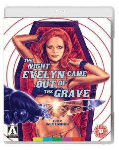 The Night Evelyn Came Out of the Grave (blu Ray Disc)