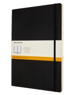 Carnet - Moleskine Classic Ruled Paper Notebook - Soft Cover - Black