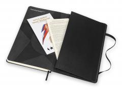Carnet - Moleskine David Bowie Ruled Notebook - Large, Hard Cover, Black - Look Up Here, I`m In Heaven