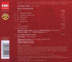 Verdi Requiem - EMI Masters