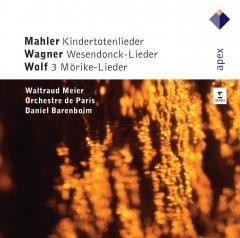Mahler: Kindertotenlieder, Wagner: Wesendonck-Lieder, Wolf: 3 Morike-Lieder