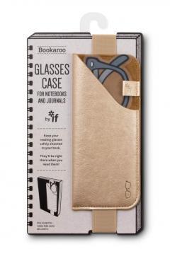 Etui pentru ochelari - Bookatoo - Metallic Gold