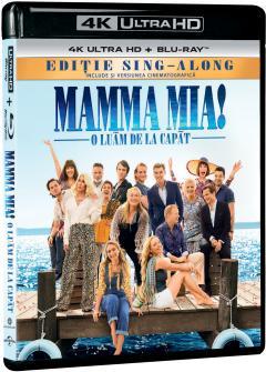 Mamma Mia! 2: O luam de la capat / Mamma Mia! Here We Go Again (4k UltraHD + Blu-Ray Disc)