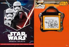 Set Small Magnetic Scribbler + Carte Star Wars. Razboiul galactic