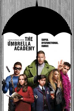 Poster - The Umbrella Academy - Super Dysfunctional Family