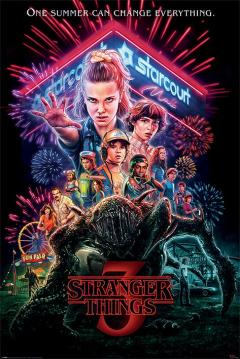 Poster - Stranger Things - Summer of 85
