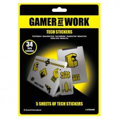 Stickere - Gamer at Work