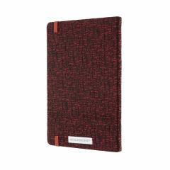 Carnet - Moleskine Blend - Large, Hard Cover, Ruled - Red