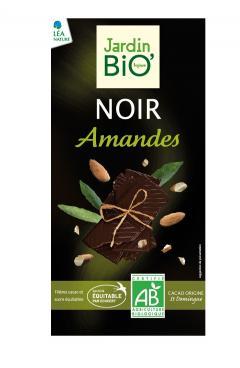 Ciocolata neagra cu migdale bio