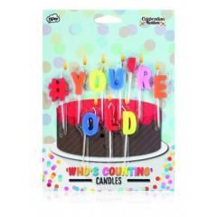 Lumanari pentru tort #You're Old