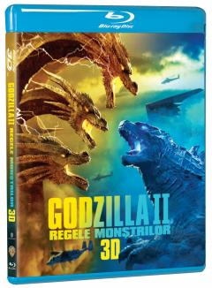 Godzilla II: Regele Monstrilor / Godzilla II: King of the Monsters (Blu-Ray Disc 3D)