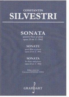 Sonata pentru flaut si pian OP.23 , Nr.2