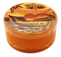 Lumanare parfumata - Mandarina si mirodenii