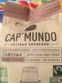 Capsule espresso - Combawa Cap'Mundo Bio
