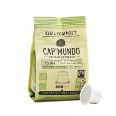 Capsule espresso - Biloba Cap'Mundo Bio
