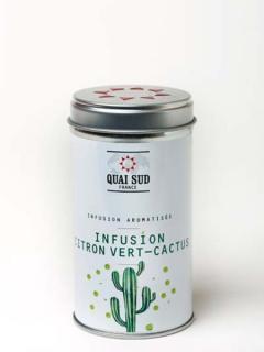 Ceai de plante cu lime si cactus