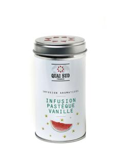 Ceai rece de plante cu pepene si vanilie