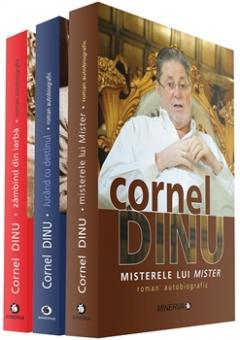 Pachet 3 carti - Cornel Dinu: 1. Zambind din iarba; 2. Jucand cu destinul; 3. Misterele lui Mister