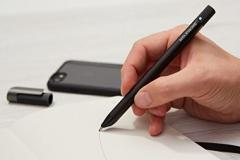 Moleskine Pen+ Ellipse Smartpen - Black