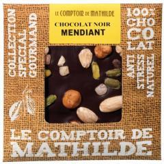 Tableta de ciocolata Comptoir de Mathilde neagra cu fructe uscate