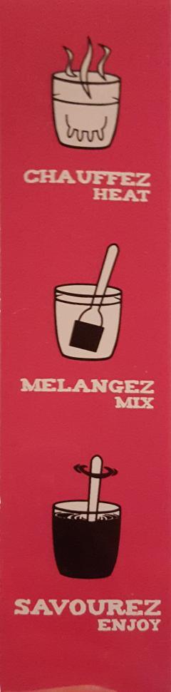 Ciocolata calda cuburi Comptoir de Mathilde cu lapte si drajeuri