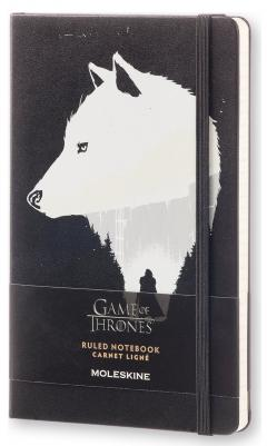 Moleskine Game of Thrones - Jon Snow - Limited Edition - Large Ruled Notebook