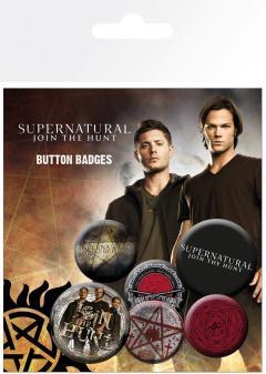 Insigne - Supernatural Saving People - mai multe modele