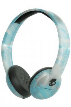 Casti Bluetooth Wireless Skullcandy Uproar - Clear / Scribble / Black