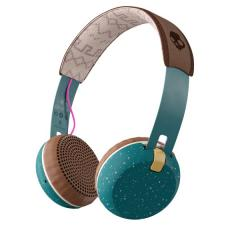 Casti Skullcandy Grind On Ear Wireless - Pine / Mustard / Pink