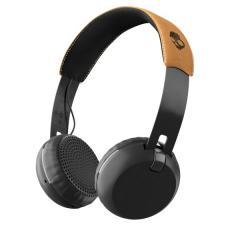 Casti Skullcandy Grind On Ear Wireless - Black / Tan