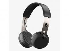 Casti Skullcandy Grind On Ear Wireless - Black / Chrome